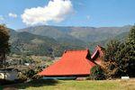 本重寺と櫛形山