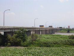 現在の鏡中条橋2