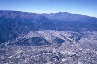 根方周辺の航空写真